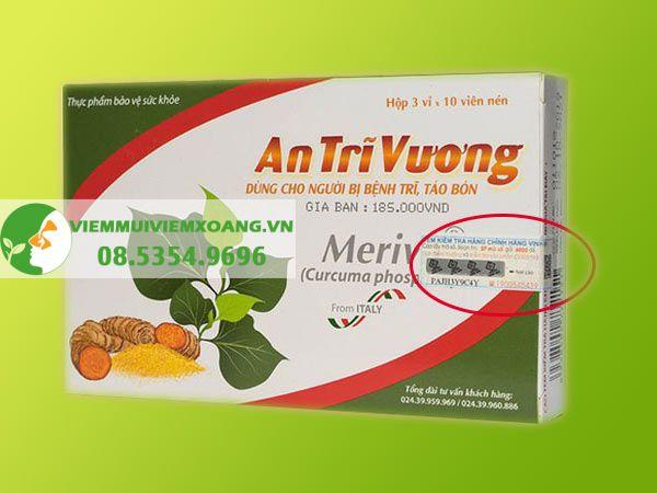 An Trĩ Vương hiện đang được bán tại các nhà thuốc trên toàn quốc