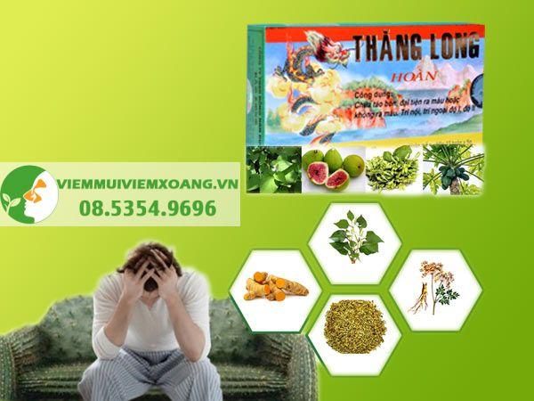 Thăng Long Hoàn là thuốc uống được sản xuất bởi công ty TNHH Đông nam dược Bảo Long, Việt Nam