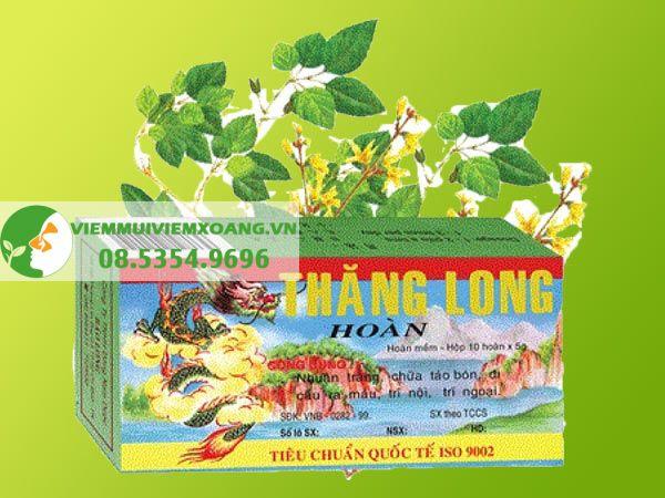 Thuốc điều trị trĩ: Thăng Long Hoàn