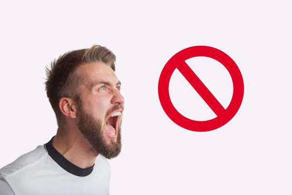 Không nên la hét sau khi đốt họng hạt