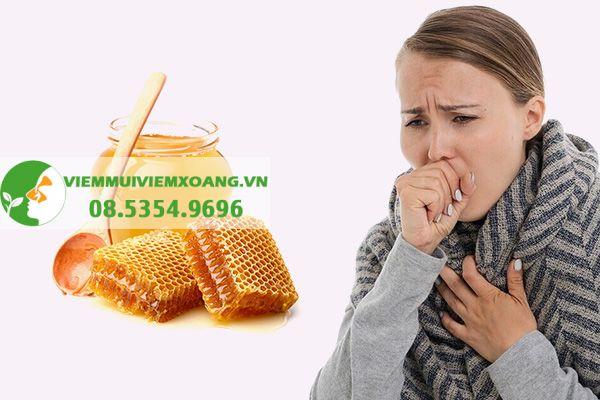 Mật ong trị ho