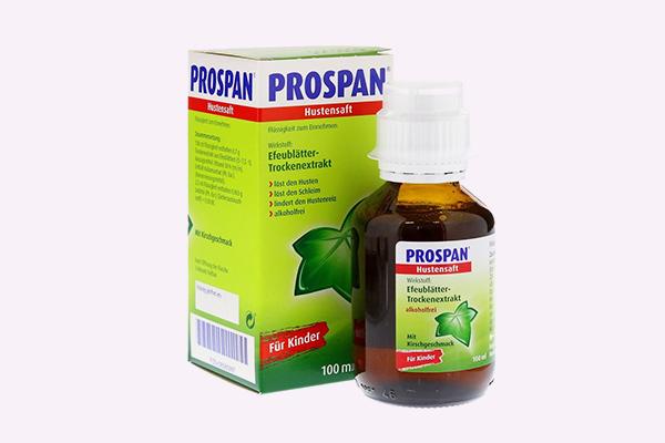 Siro trị ho Prospan - An toàn đối với trẻ sơ sinh