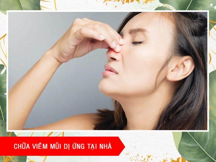 Cách chữa viêm mũi dị ứng tại nhà